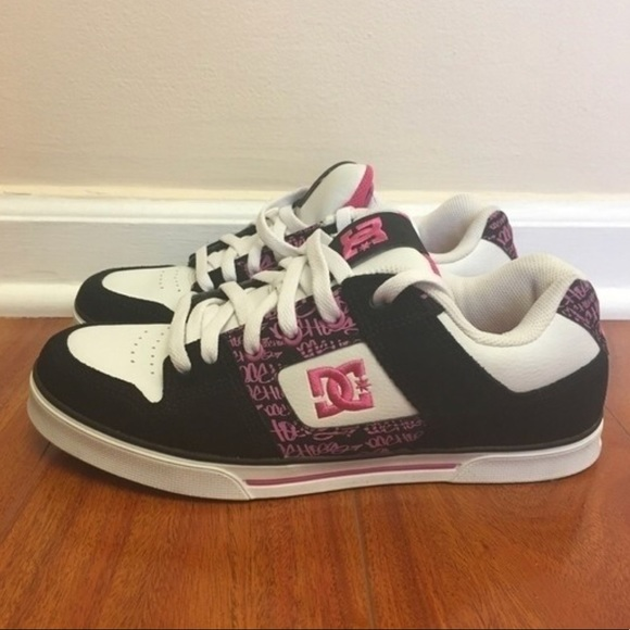 NEW DC Graffiti Sneakers NWT